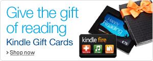 Give an Amazon.co.uk Kindle Gift Card