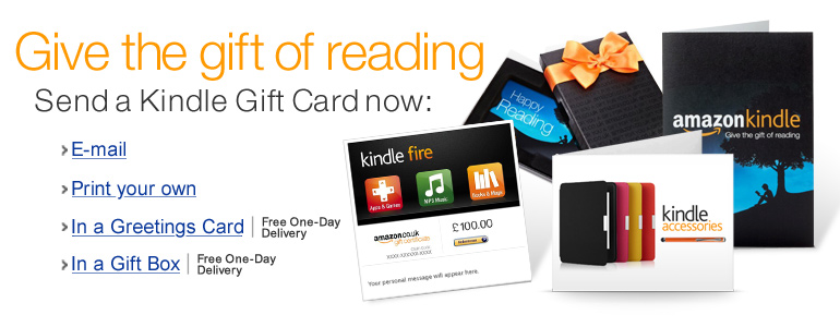Kindle Gift Cards