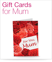 Gift Cards for Mum