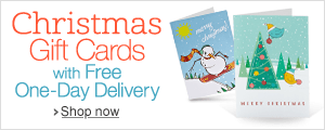 Amazon Gift Cards for Christmas