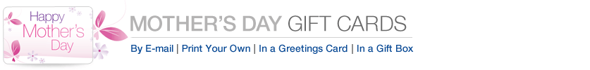 Amazon Gift Cards for Mother's Day