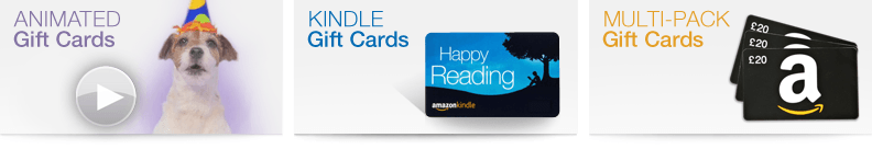 Amazon Gift Cards for every need