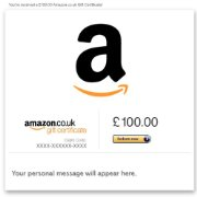E-mail Amazon.co.uk Gift Certificates