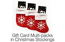 Amazon.co.uk Gift Card Multi-packs in Christmas Stockings