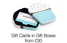 Gift Cards in Gift Boxes from £30
