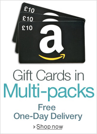 Amazon Gift Cards in Multipacks