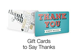 Thank You Gift Cards