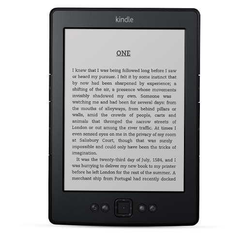 Kindle - small, light, perfect for reading