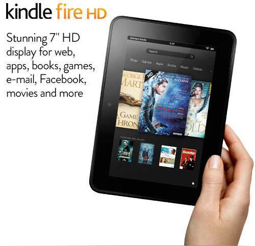 Kindle Fire HD: Quick Tour