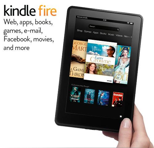 Kindle Fire: quick tour