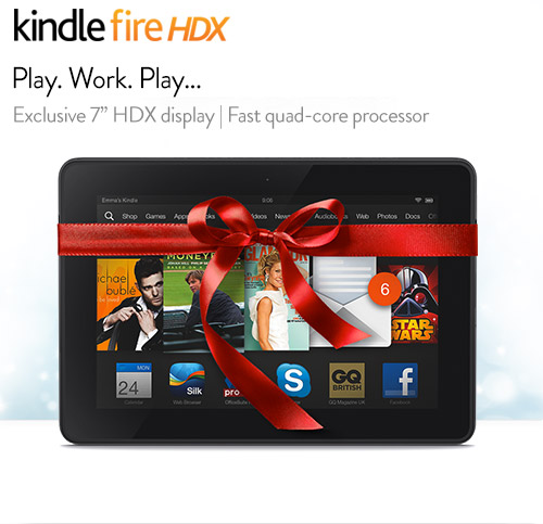 Kindle fireHDX