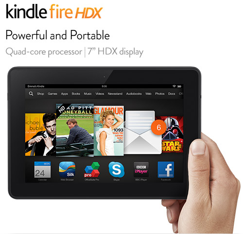 "Kindle Fire 7"" 16GB Tablet"