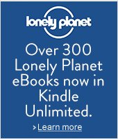 Lonely Planet is now in Kindle Unlimited