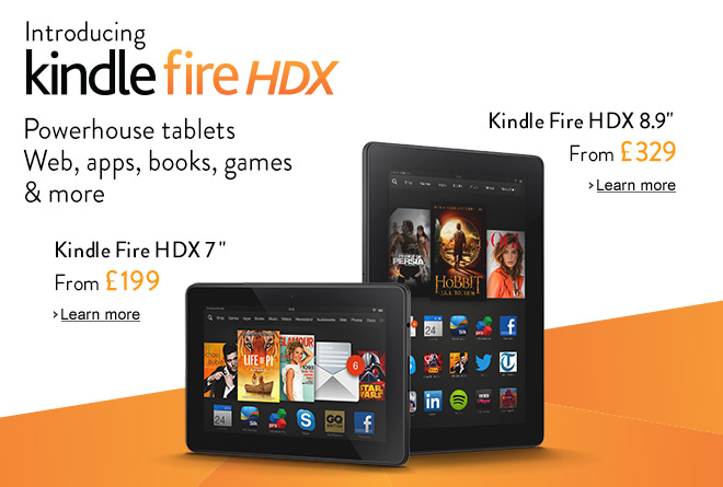 Kindle Fire HDX : powerhouse tablets