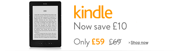 Kindle Now Only �59