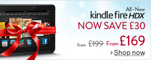 Kindle Fire HDX: Now save £30, limited time only