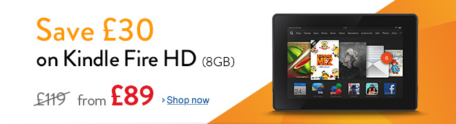 Save �30 on Kindle Fire HD