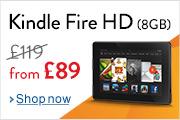 Save �30 on Kindle Fire HD 8GB
