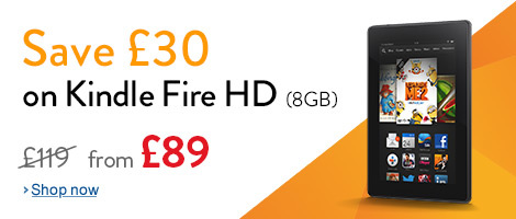 �30 off Kindle HD 8GB tablets