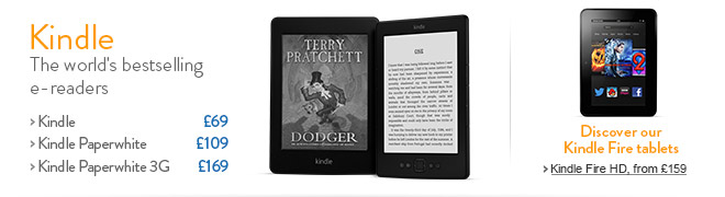 Kindle: The World's Bestselling Ereaders