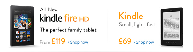 All-New Kindle Fire HD - The perfect family tablet