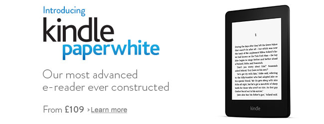 Introducing Kindle Paperwhite - From £109