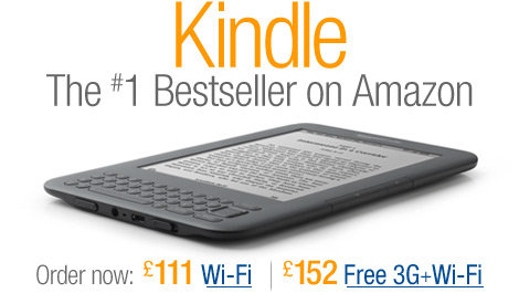 The All-New Kindle. Order now from only £111