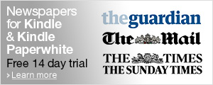 Newspapers for your Kindle and Kindle Paperwhite including The Guardian, The Daily Mail and The Times