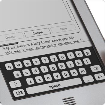 Touchscreen keyboard