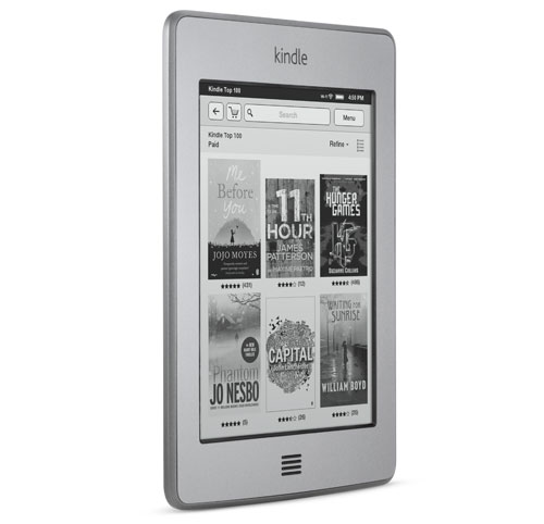 Kindle e-reader: device cover view