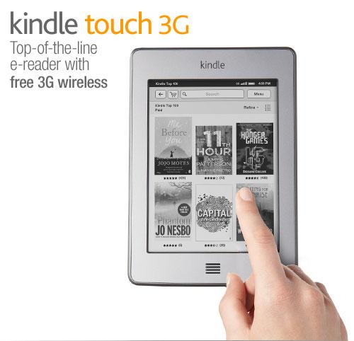 Kindle e-reader: quick tour