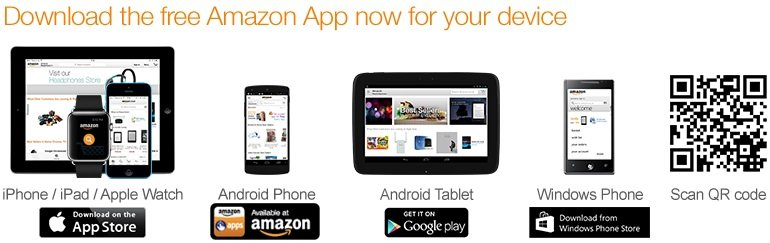 Download the Amazon App for free