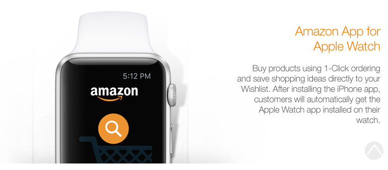 Amazon App for iPhone: Now with support for Apple Watch
