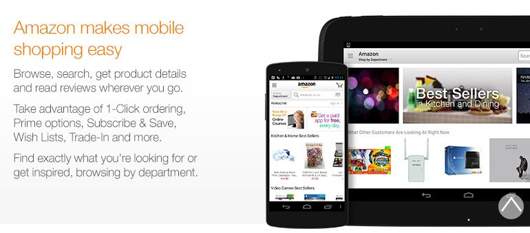 amazon co uk the amazon app for smartphones amp tablets shops