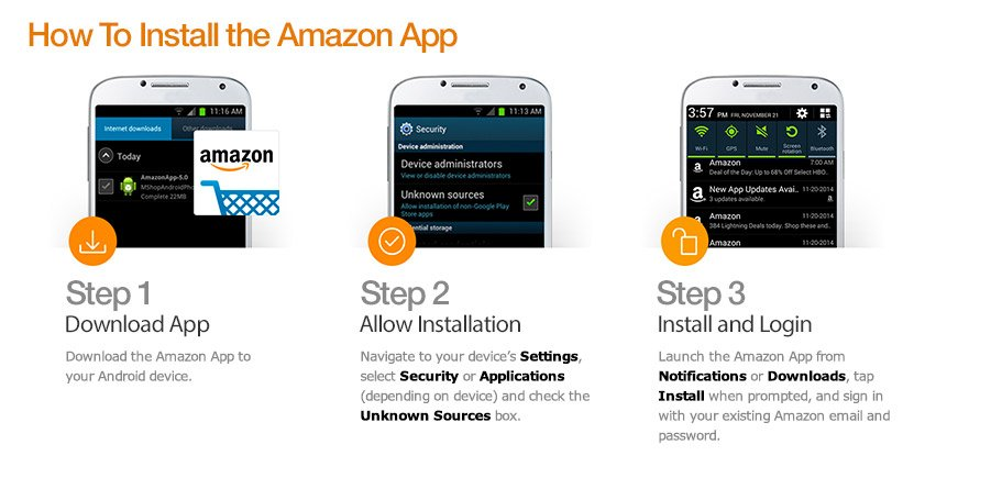 Amazon App for Android Phone