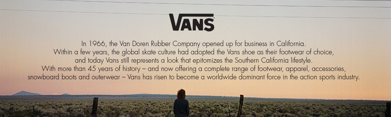 Vans: Brand Story