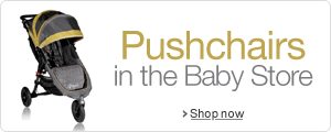 Pushchairs and Complete Travel Systems in the Baby Store