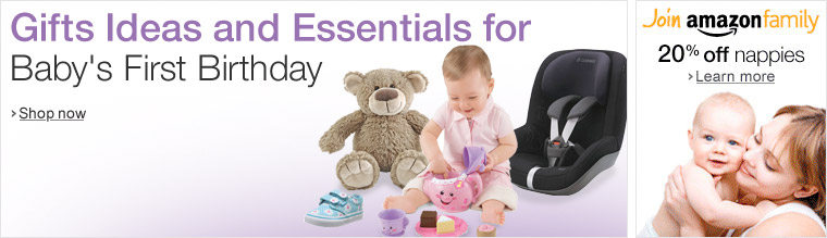 Gift Ideas and Essentials for Baby's First Birthday