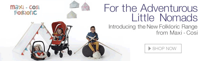Introducing the new Folkloric range from Max-Cosi