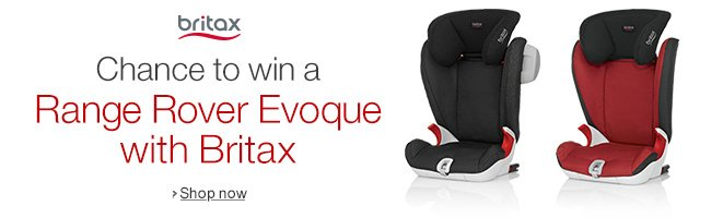Chance to win a Range Rover Evoque with Britax