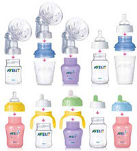 The Philips AVENT range is flexible and interchangeable to suit baby's needs