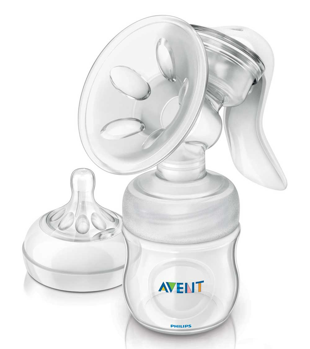 avent manual breast pump assembly instructions