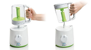 Philips AVENT baby food steamer blender