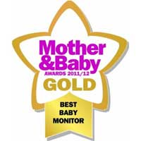 The BT Baby Monitor 250 has won a number of high profile awards, including the Mother & Baby 'Gold Award' 2011.