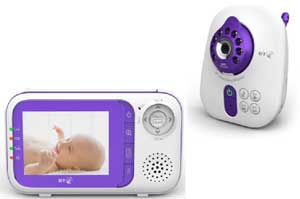 It's easy to keep an eye  on your baby with the smooth video experience provided by the BT Digital Video Baby Monitor 1000.