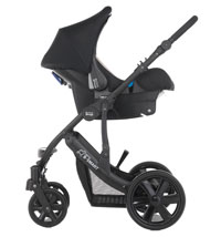 B-Smart with Baby-Safe infant carrier
