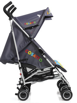 Cosatto Ditto Twin Stroller Get Set Go Side View