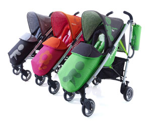 The Cosatto Yo! Stroller is available in three stylish colours