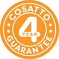 Free 4 year guarantee when registered (UK and Ireland only)
