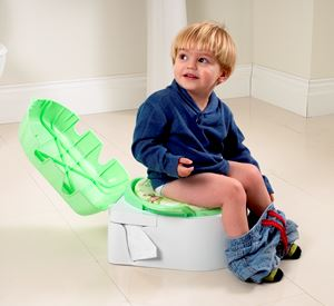 Toddler using as a potty